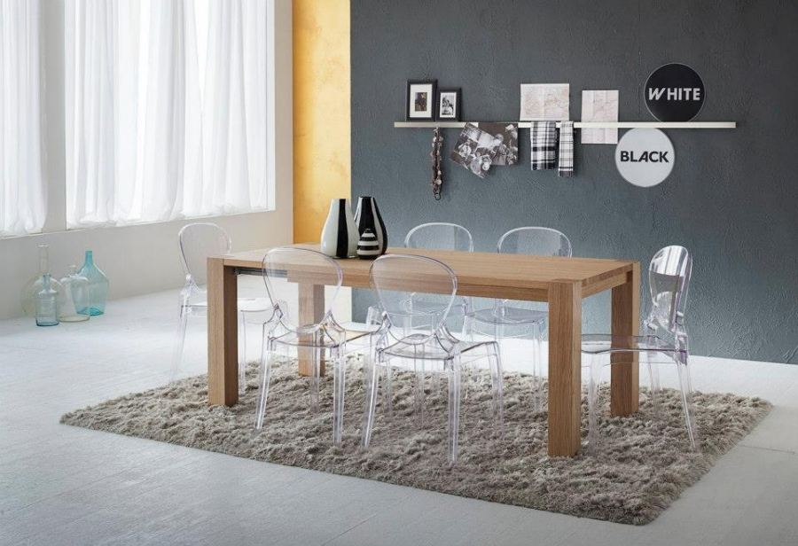 Tavoli e sedie complementi ambienti zanga arredamenti - Sedie trasparenti ikea ...